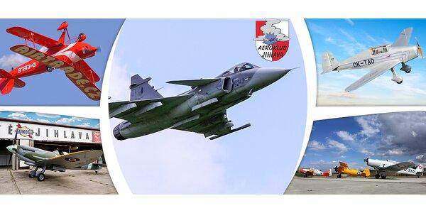 Vstupenky na 25. Horácký letecký den v Jihlavě