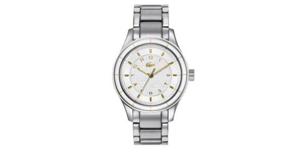 Dámské hodinky ve stříbrné barvě Lacoste