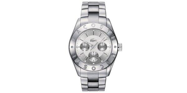 Dámské hodinky z nerezové oceli s datumovkou Lacoste
