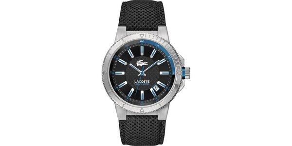Pánské hodinky s modrými prvky Lacoste