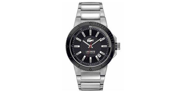 Pánské stříbrné hodinky Lacoste