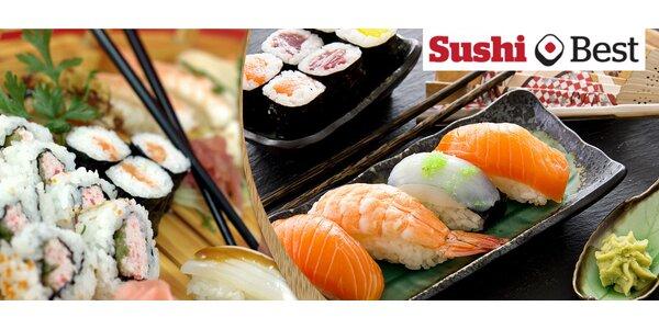 Špičkové sushi sety s 30 nebo 36 kousků
