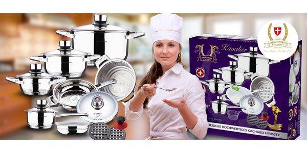 Výprodej: 16dílná sada nerez nádobí