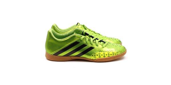 Tréninkové zelené boty Adidas