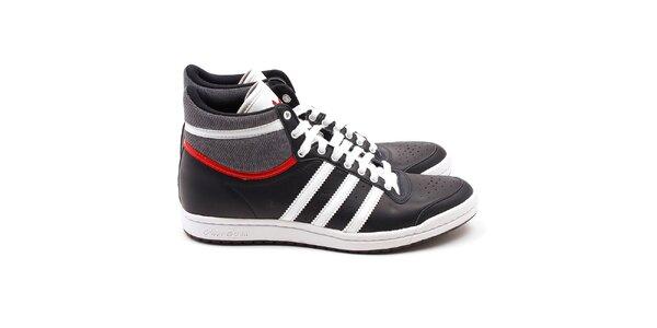 Dámské tmavě modré kotníkové tenisky Adidas