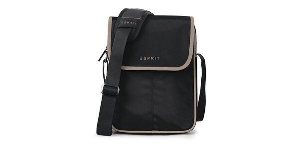 Černá taška na tablet Esprit