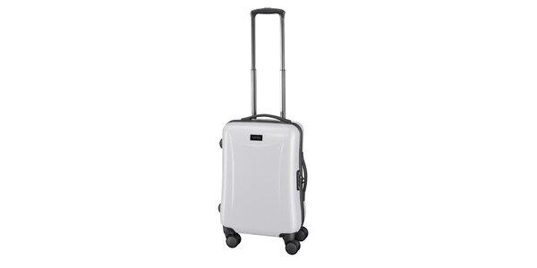 Světlý příruční kufr na kolečkách Esprit