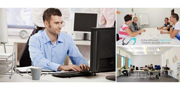 Ušetřete za pronájem celé kanceláře a pronajměte si pracovní místo