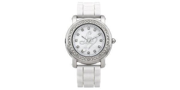Dámské bílé hodinky Lipsy