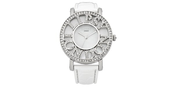 Dámské hodinky s nápisem Lipsy