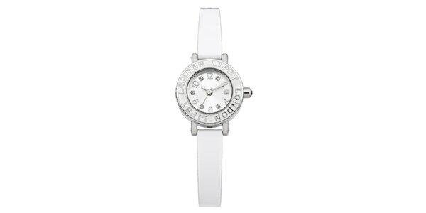 Dámské bílé hodinky s nápisem Lipsy