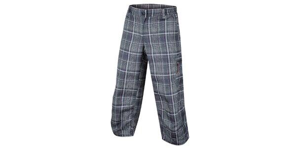 Dámské tmavé capri kalhoty se vzorem Alpine Pro