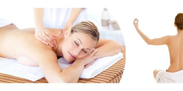 Nechte se hýčkat zkušenou masérkou - relaxační nebo těhotenská masáž