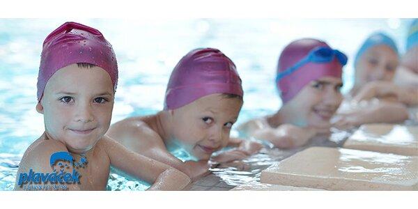 Lekce plavání na vyzkoušení pro děti samostatně (od dokončeného 3 roku do 7 let)