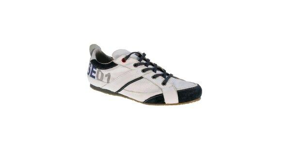 Pánské bílé kožené boty Red Hot