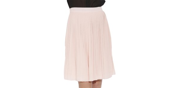 Dámská světle růžová skládaná sukně Angel Eye