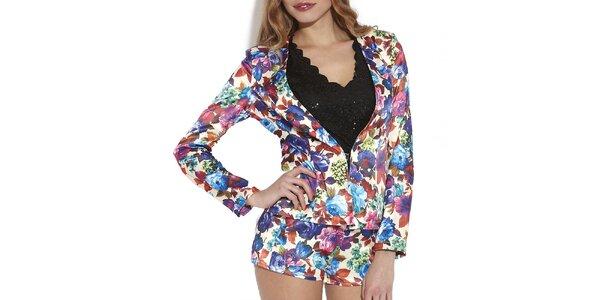 Dámské barevné květované šortky Angel Eye