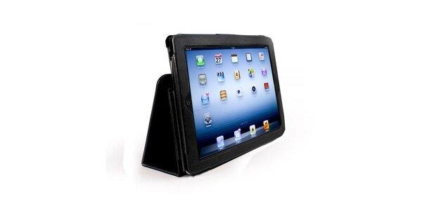 Kožené pouzdro na iPad černé