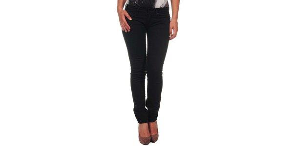 Dámské úzké černé kalhoty Calvin Klein
