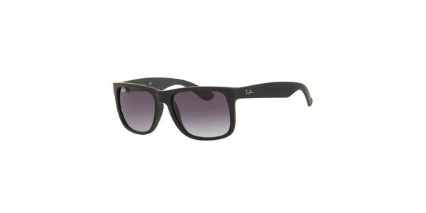 Černé sluneční brýle s plastovými obroučkami Ray-Ban