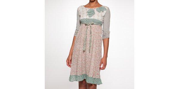 Dámské šaty s květinovým vzorem Ian Mosh