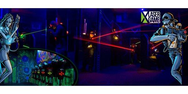 Akční Laser Game – hra pro jednotlivce i turnaj pro skupiny
