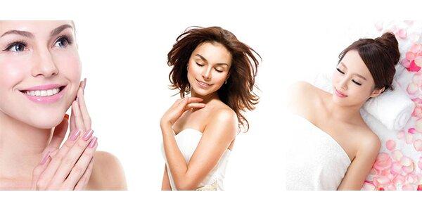 Hýčkání dermatologickou kúrou pro všechny typy pleti, vhodné pro ženy i muže