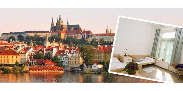Pokoj se snídaní pro 2 osoby na 2 noci nedaleko Pražského hradu