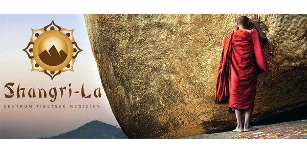 90minutová tibetská masáž celého těla a další procedury