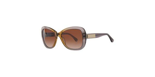 Dámské šedo-žluté sluneční brýle Michael Kors