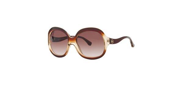 Dámské hnědé sluneční brýle Michael Kors