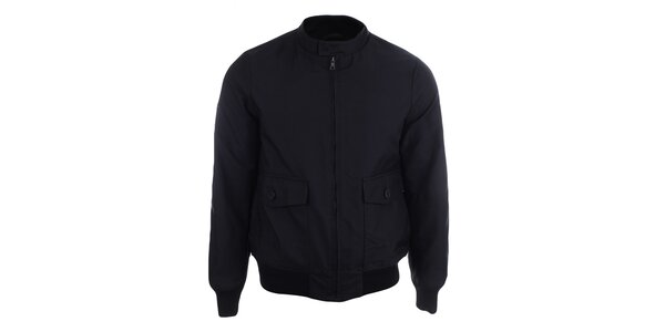 Pánská černá bunda Pietro Filipi