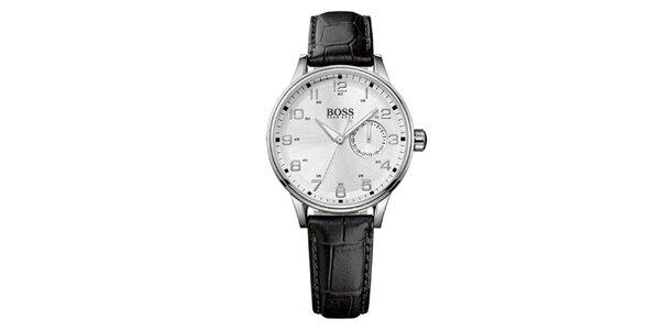 Dámské analogové hodinky s koženým páskem Hugo Boss