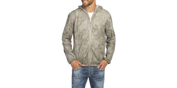 Pánská šedá bunda s kapucí LIU•JO