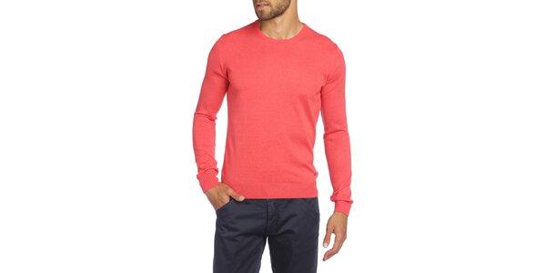 Pánský svetr v korálové barvě LIU•JO