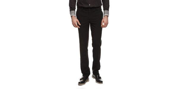 Pánské černé kalhoty s kapsami Dewberry