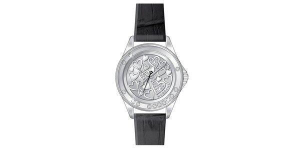 Dámské hodinky z nerezové oceli MORGAN stříbrný ciferník