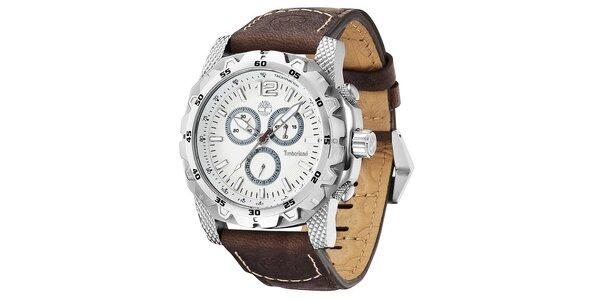 Pánské hodinky Timberland FRONT COUNTRY hnědé