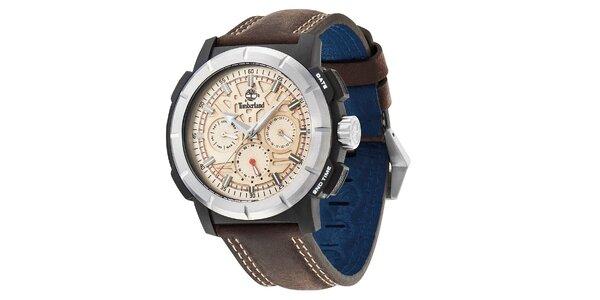 79367361d0f Pánské hodinky Timberland EDGEWOOD tmavě hnědé