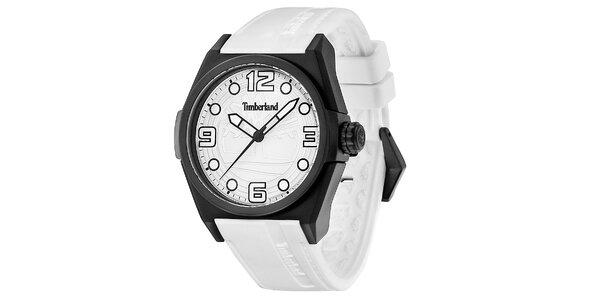 Pánské hodinky Timberland RADLER, bílý řemínek
