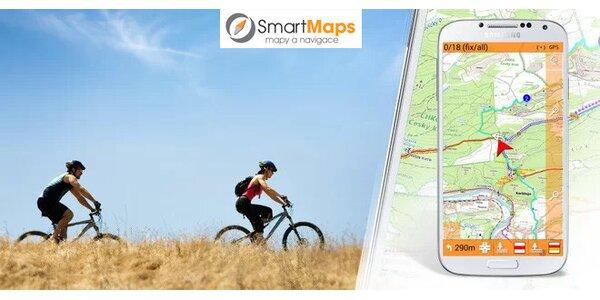 Offline mobilní navigace pro Android na kolo, do auta i pro turisty