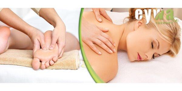 Klasická či relaxační masáž nebo reflexní terapie