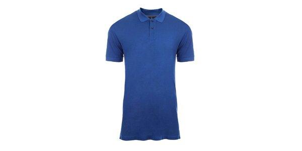 Pánské modré polo triko Pietro Filipi
