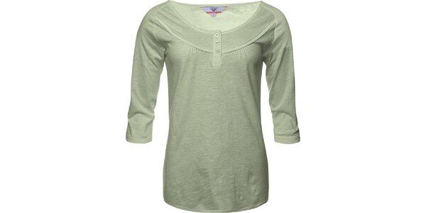 Dámské světle olivové tričko Bushman