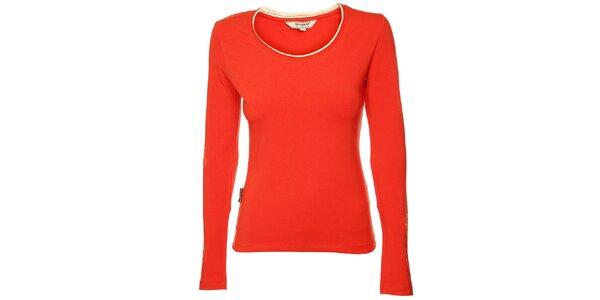 Dámské červené tričko Bushman