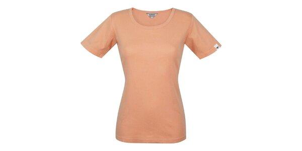 Dámské oranžové tričko s krátkým rukávem Bushman