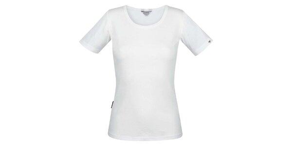 Dámské bílé tričko s krátkým rukávem Bushman
