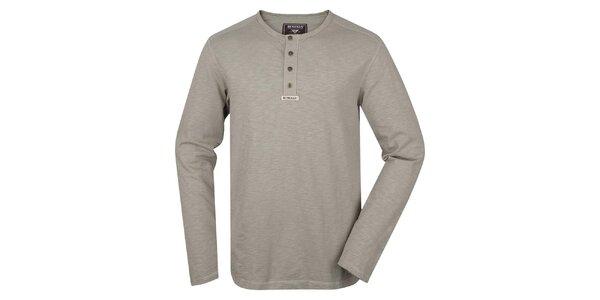 Pánské triko s dlouhým rukávem Bushman