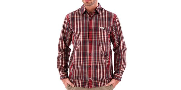 Pánská pruhovaná košile Bushman