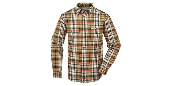 Pánská vzorovaná košile Bushman